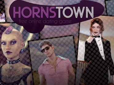 Hornstown free text-based sandbox fetish porn game