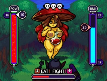 Eat or Fight adult game