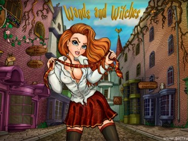 Wands and Witches adventure RPG game