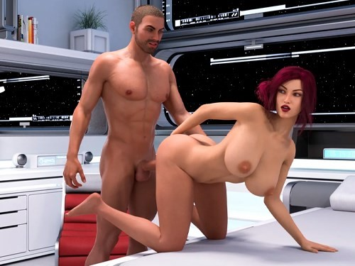 Through Spacetime 3d porn visual novel